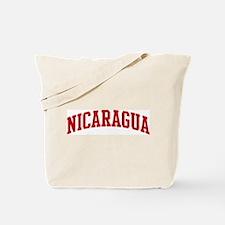 NICARAGUA (red) Tote Bag