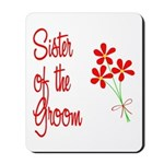 Bouquet Groom's Sister Mousepad