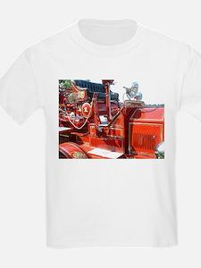 Red fire truck seat shot 3 T-Shirt