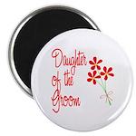 Bouquet Groom's Daughter Magnet