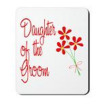 Bouquet Groom's Daughter Mousepad