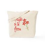 Bouquet Groom's Daughter Tote Bag