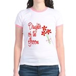 Bouquet Groom's Daughter Jr. Ringer T-Shirt