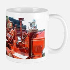 Red fire truck seat shot 3 Mugs