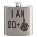 21st birthday Flask Bottles
