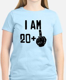 Middle Finger 21st Birthday T-Shirt