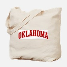 OKLAHOMA (red) Tote Bag