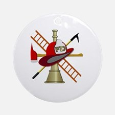 Generic fire service emblem 1 Ornament (Round)