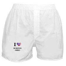 I love Burton Ohio Boxer Shorts