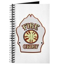 Fire chief helmet shield white Journal