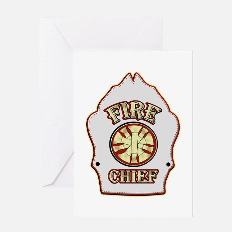 fire chief greeting cards card ideas sayings designs templates. Black Bedroom Furniture Sets. Home Design Ideas