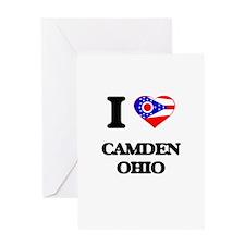 I love Camden Ohio Greeting Cards
