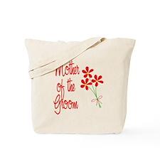 Bouquet Groom's Mom Tote Bag
