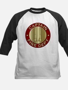 Fire captain emblem bugles Baseball Jersey
