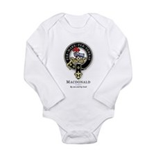 Unique Scottish clan crest Long Sleeve Infant Bodysuit