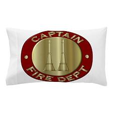 Fire captain emblem bugles Pillow Case