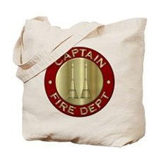 Fire captain emblem bugles Tote Bag