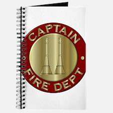 Fire captain emblem bugles Journal
