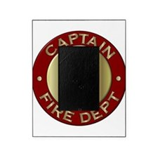 Fire captain emblem bugles Picture Frame