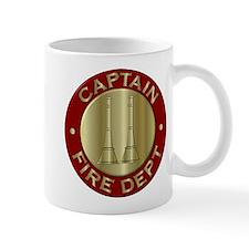 Fire captain emblem bugles Mugs