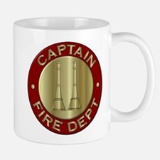 Fire captain emblem bugles Mugs