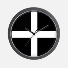 The Flag Of Cornwall Wall Clock