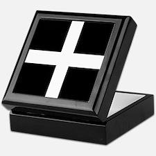 The Flag Of Cornwall Keepsake Box
