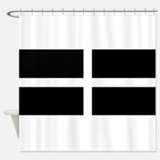 The Flag Of Cornwall Shower Curtain