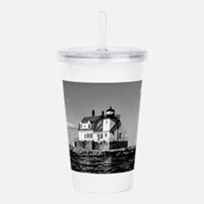 Rockland Harbor Breakw Acrylic Double-wall Tumbler