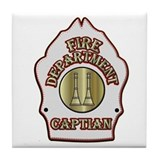 Fire captain Drink Coasters