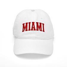 MIAMI (red) Baseball Cap