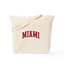 MIAMI (red) Tote Bag