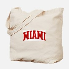 MIAMI (red) Tote Bag