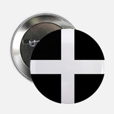 """The Flag Of Cornwall 2.25"""" Button"""