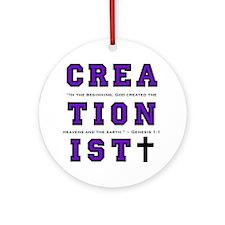 Creationist (PUR) - Ornament (Round)