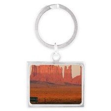 Cute Monument valley Landscape Keychain