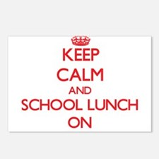 Keep Calm and School Lunc Postcards (Package of 8)