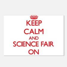 Keep Calm and Science Fai Postcards (Package of 8)