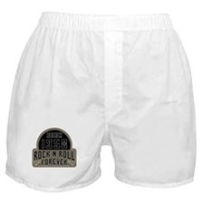 Birthday Born 1950 Rock And Roll Boxer Shorts