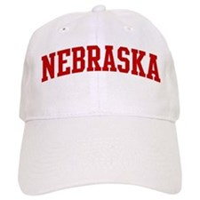 NEBRASKA (red) Baseball Cap
