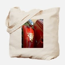 gold leaf car Tote Bag