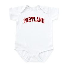 PORTLAND (red) Infant Bodysuit