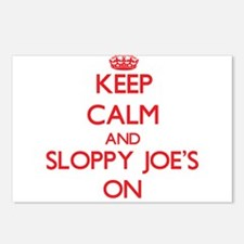 Keep Calm and Sloppy Joe' Postcards (Package of 8)