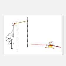 Pole Vault Postcards (Package of 8)