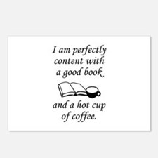 Good Book And Coffee Postcards (Package of 8)