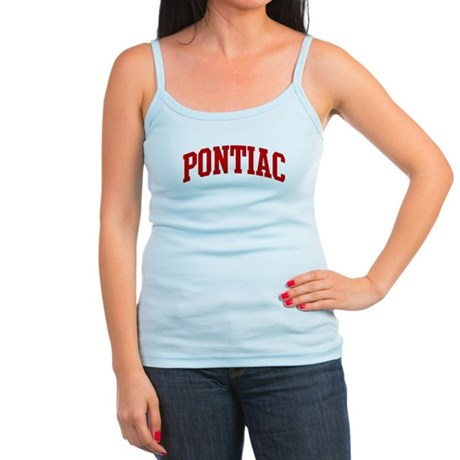 PONTIAC (red) Jr. Spaghetti Tank
