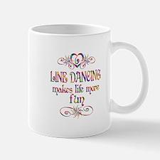 Line Dancing More Fun Mug