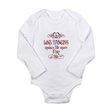 Line Dancing More Fun Long Sleeve Infant Bodysuit