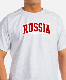 RUSSIA (red) T-Shirt