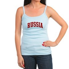 RUSSIA (red) Ladies Top